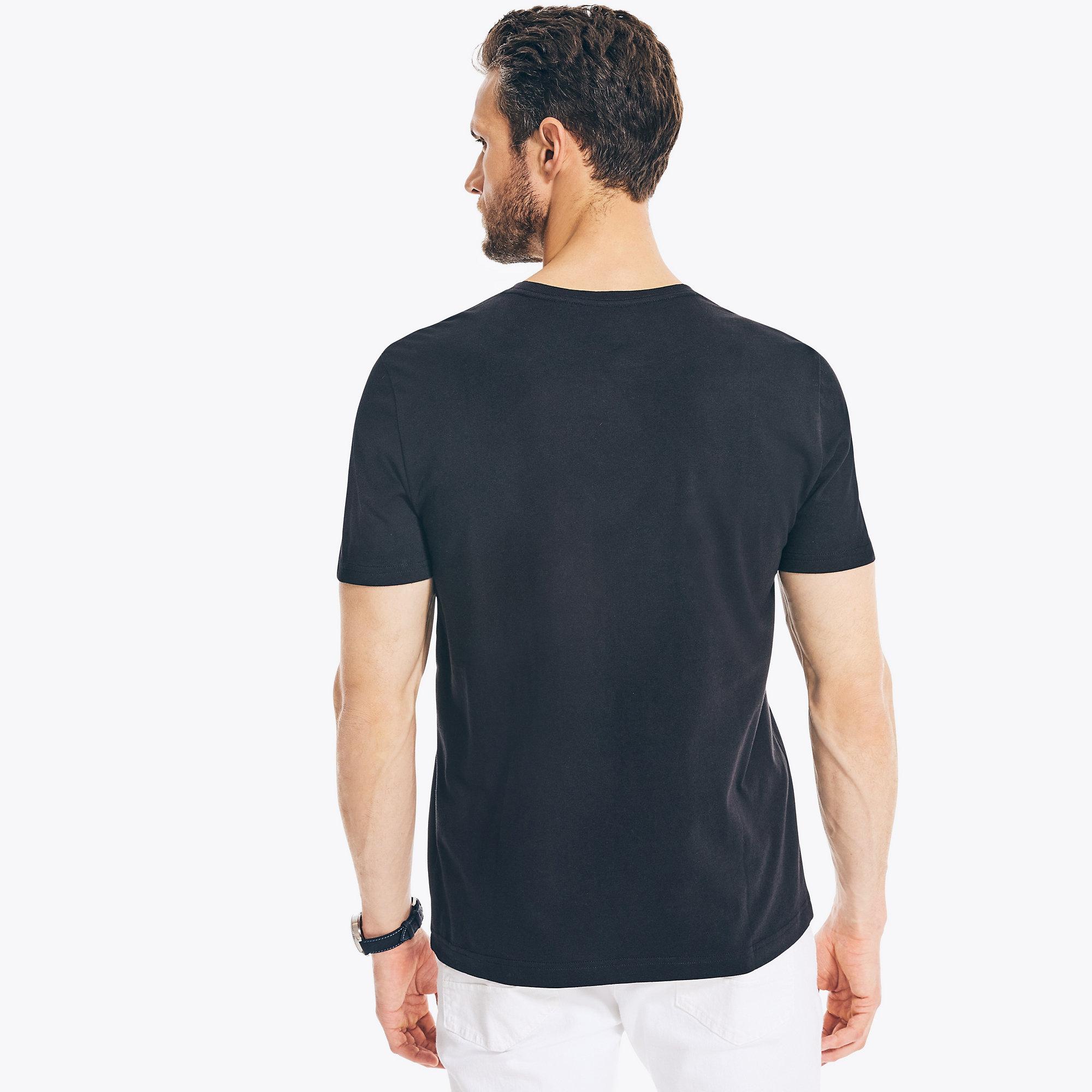 Nautica-Mens-Solid-Short-Sleeve-Crewneck-T-Shirt thumbnail 80