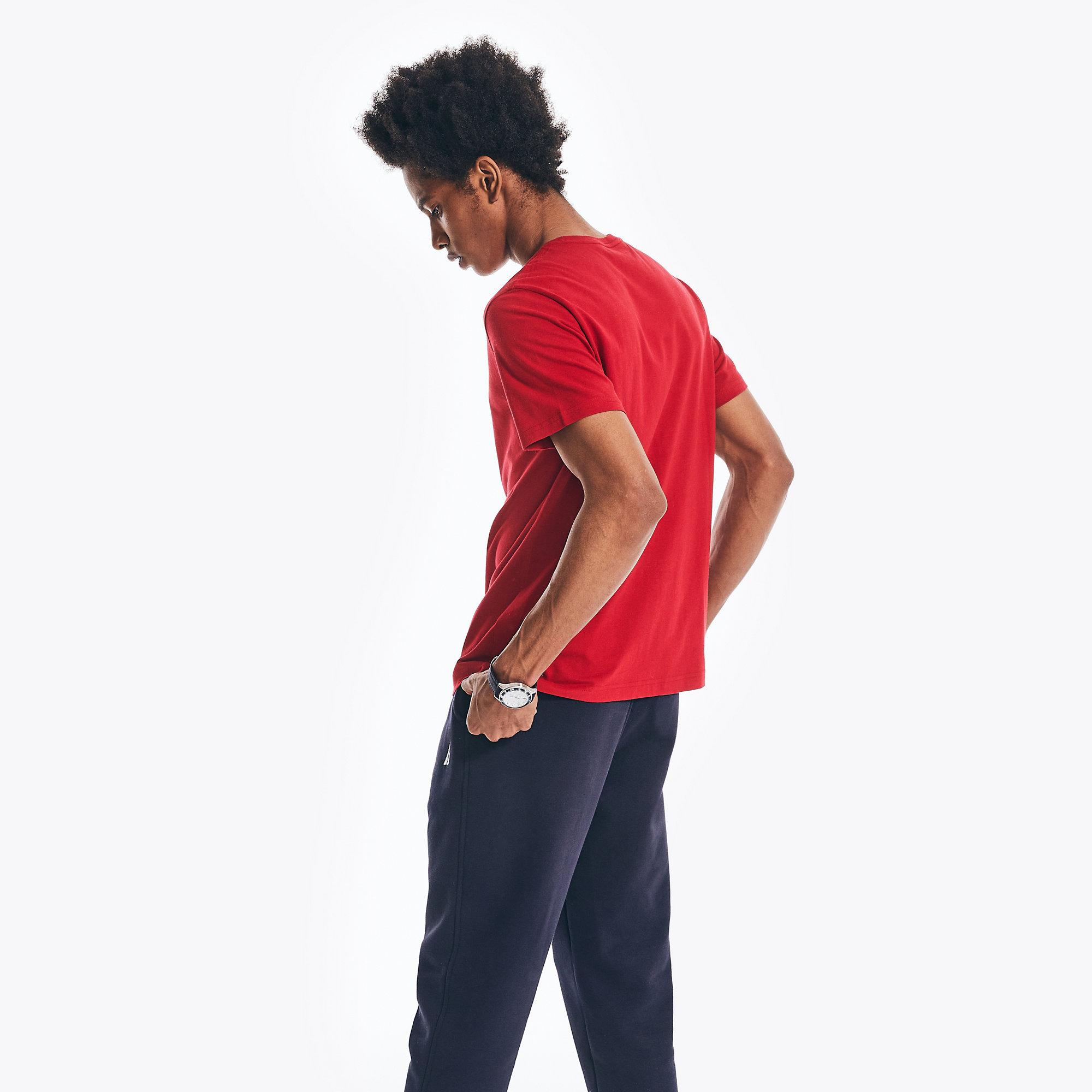 Nautica-Mens-Solid-Short-Sleeve-Crewneck-T-Shirt thumbnail 48