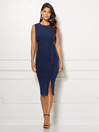 Eva Mendes Collection - Emme Sheath Dress | Tuggl