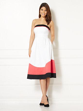 Eva Mendes Dresses Ankle Length
