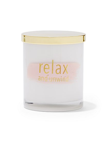"""""""Relax and Unwind"""" Jar Candle - New York & Company"""