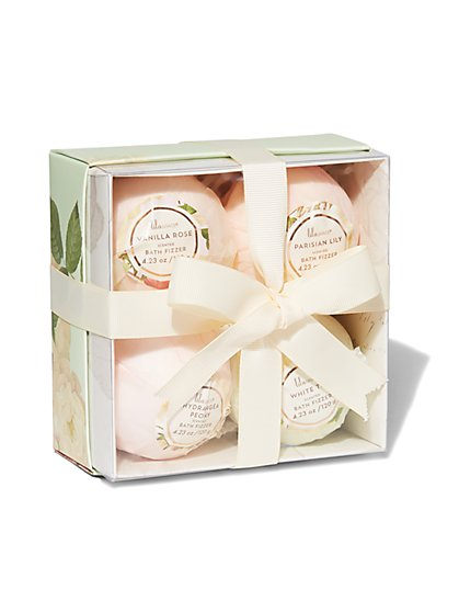 4-Piece Scented Bath Bomb Set - New York & Company