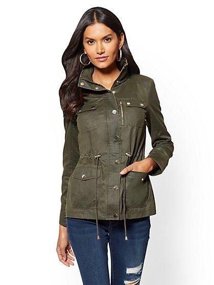 4-Pocket Anorak Jacket - New York & Company
