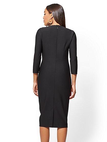 All black dress clothes
