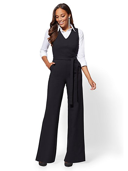 7th Avenue - Jumpsuit - All-Season Stretch - New York & Company