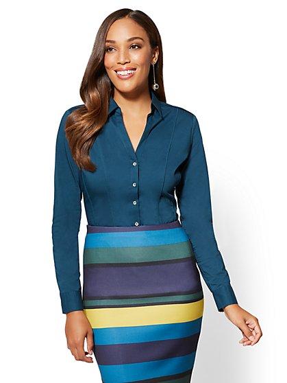 7th Avenue - Madison Stretch Shirt - New York & Company