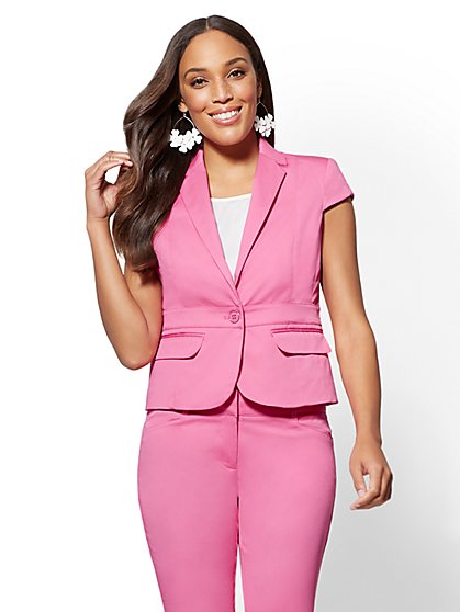 7th Avenue - One-Button Jacket - Modern - New York & Company