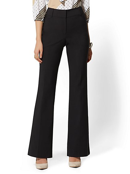7th Avenue Pant - Bootcut - Modern - All-Season Stretch - New York & Company