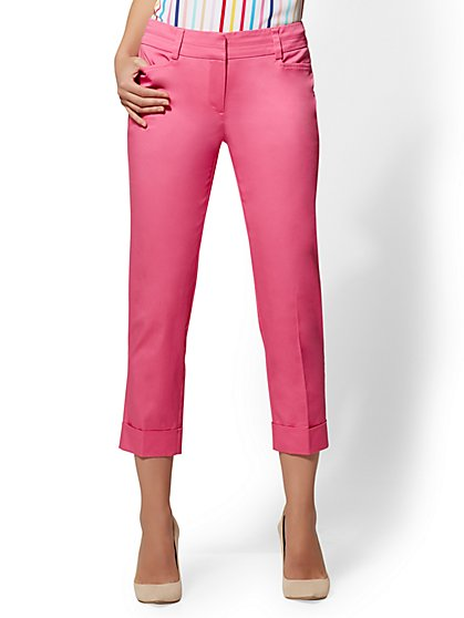 7th Avenue Pant - Crop Slim Leg - Modern - New York & Company
