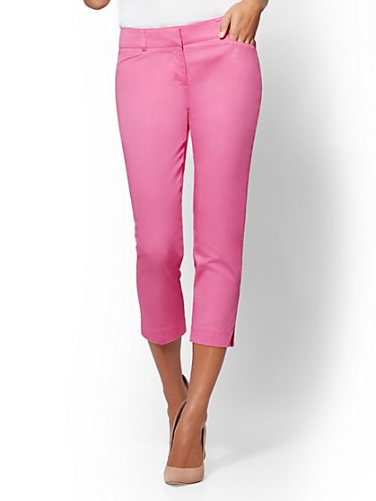 7th Avenue Pant - Crop Slim-Leg - Signature - New York & Company