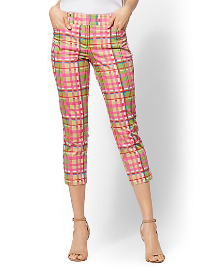 7th Avenue Pant - Crop Straight Leg - Signature - New York & Company