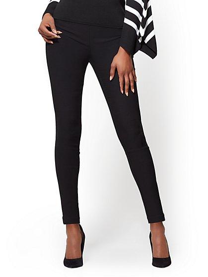 7th Avenue Pant - Pull-On - Slim-Leg - Signature - Solid - New York & Company