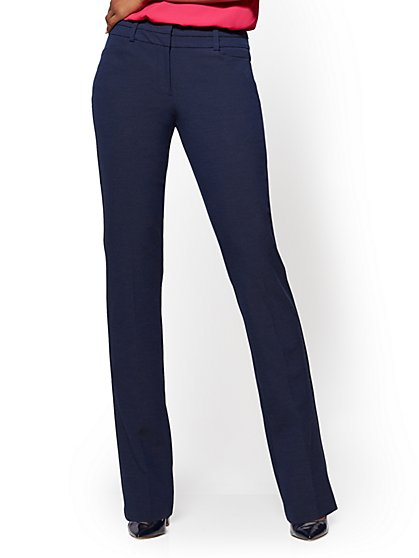 7th Avenue Pant - Straight Leg - Signature - SuperStretch - New York & Company