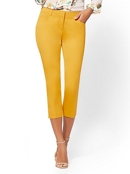 7th Avenue Pant - Tall Crop Slim-Leg - Signature - New York & Company