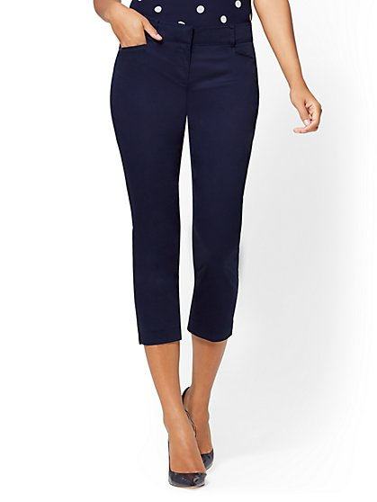 7th Avenue Pant - Tall Crop Straight Leg - Signature - New York & Company