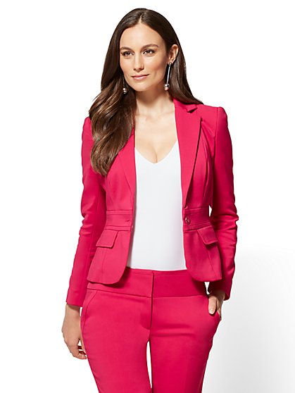 7th Avenue Petite Jacket - One-Button - Modern - New York & Company