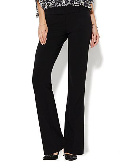 7th Avenue Petite Pant - Bootcut - Signature - Double Stretch - New York & Company