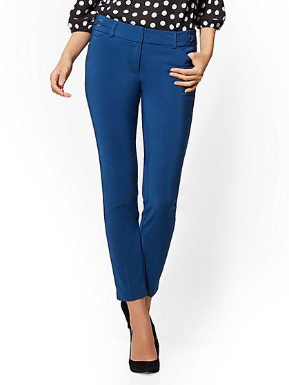 7th Avenue Petite Pant - Slim-Leg Ankle - All-Season Stretch - New York & Company