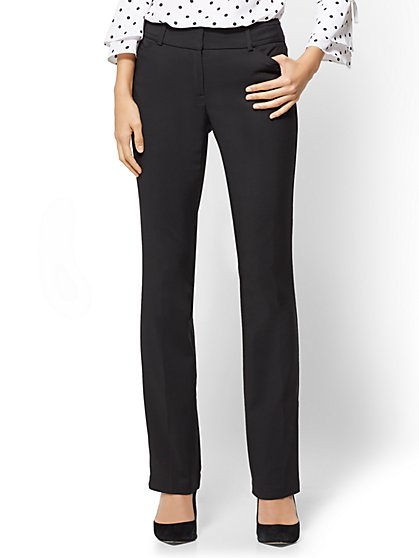 7th Avenue Petite Pant - Straight Leg - Signature - All-Season Stretch - New York & Company