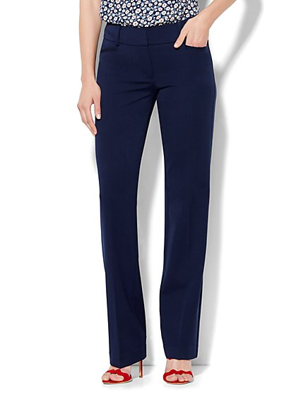 7th Avenue Petite Pant - Straight Leg - Signature - SuperStretch - New York & Company