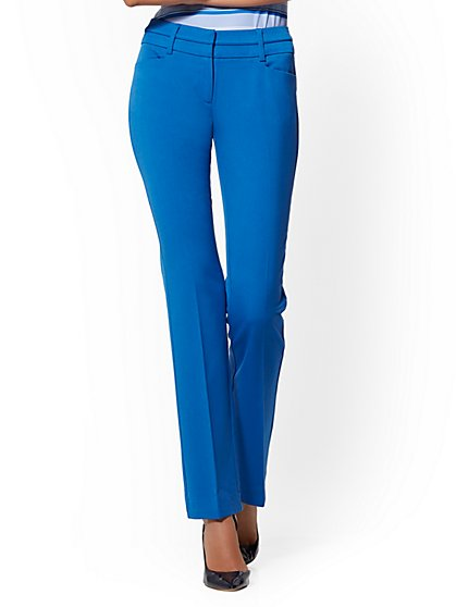 7th Avenue Petite Pant - Straight Leg - Signature - New York & Company