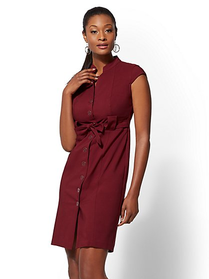 7th Avenue Sheath Dress - All-Season Stretch - New York & Company