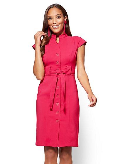 7th Avenue Sheath Dress - All-Season Stretch - New York & Company