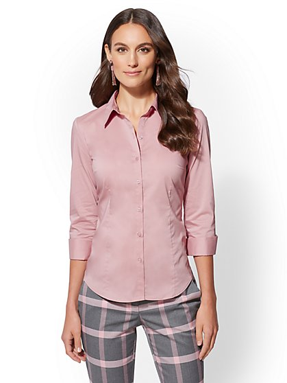 7th Avenue - Tall Madison Stretch Shirt - New York & Company