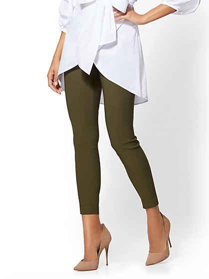 7th Avenue Tall Pant - High-Waist Pull-On Ankle - Ultra Stretch - New York & Company