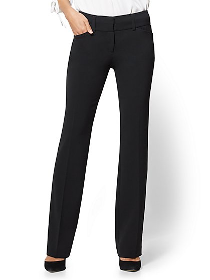 7th Avenue Tall Pant - Modern - Barely Bootcut - Double Stretch - New York & Company