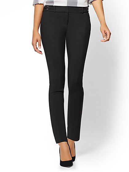 7th Avenue Tall Pant - Slim-Leg Ankle - All-Season Stretch - New York & Company