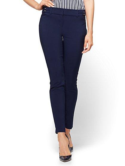 7th Avenue Tall Pant - Slim-Leg Ankle - All-Season Stretch - New York & Company