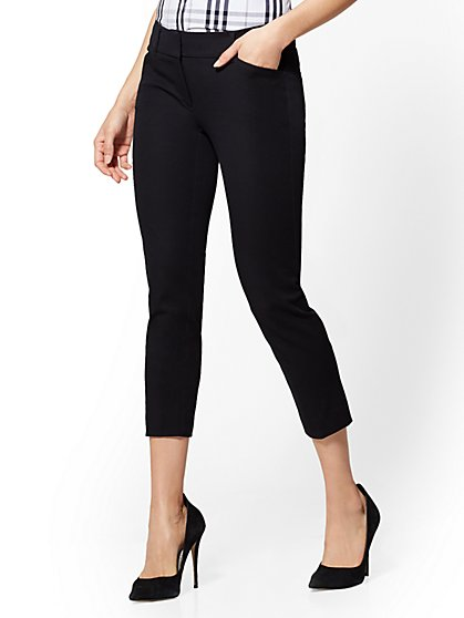 Audrey Crop Pant - New York & Company