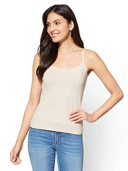 Camisole Top - Heathered Beige - New York & Company
