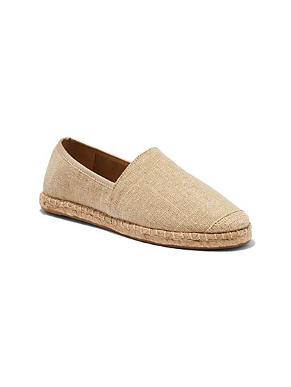 Canvas Espadrille Shoes - New York & Company