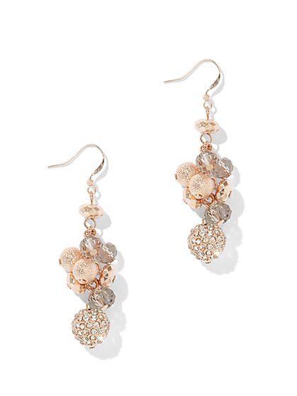 Cluster Drop Earring - New York & Company