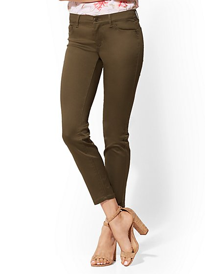 Crosby Pant - Slim-Leg Ankle - New York & Company