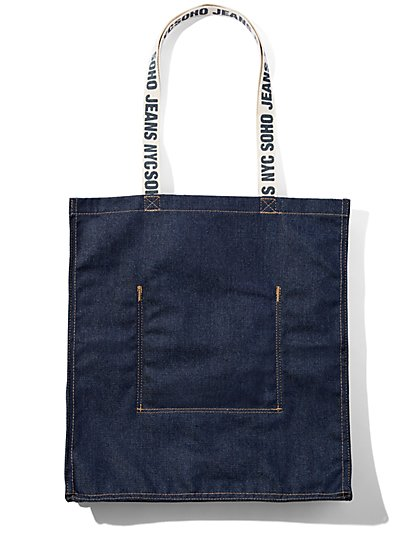 Denim Tote Bag New York Company