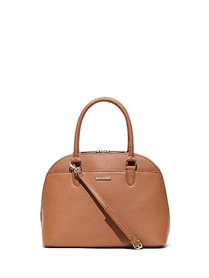Dome-Shaped Top-Handle Bag - New York & Company