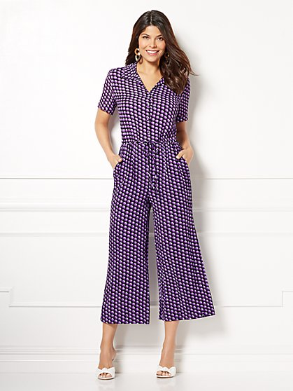 Eva Mendes Collection - Alexis Gaucho Jumpsuit - New York & Company
