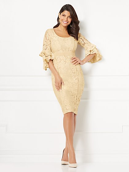 Eva Mendes Collection - Alicia Lace Sheath Dress - New York & Company