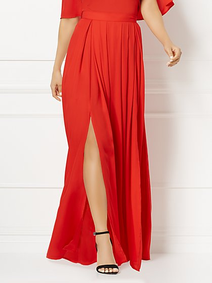 Eva Mendes Collection - Alina Red Skirt - New York & Company