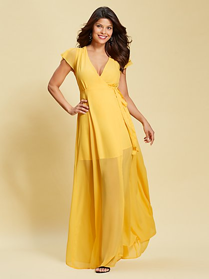 Eva Mendes Collection - Allison Maxi Dress - New York & Company