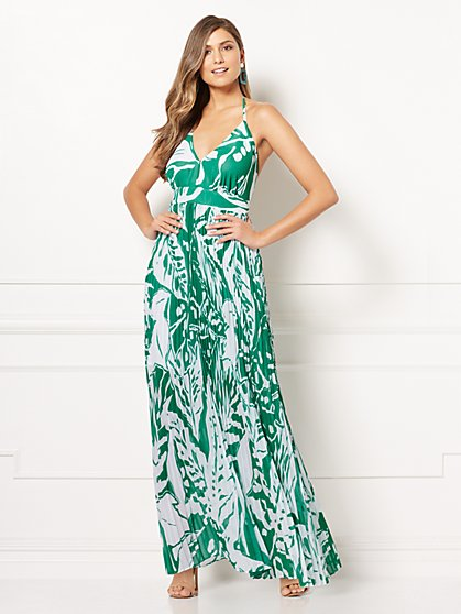 Eva Mendes Collection - Angela Halter Maxi Dress - New York & Company
