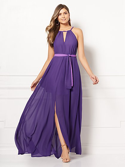 Eva Mendes Collection - Antonia Halter Maxi Dress - New York & Company