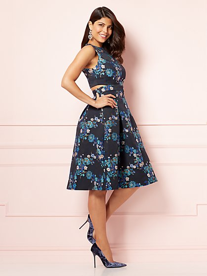 Eva Mendes Collection - Caletha Fit and Flare Dress - New York & Company