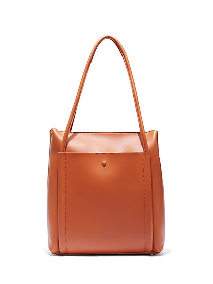Eva Mendes Collection - Camel Tote Bag - New York & Company