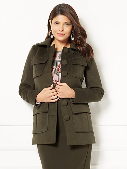 Eva Mendes Collection - Camryn Coat - New York & Company
