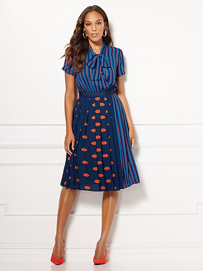 Eva Mendes Collection - Cassie Wrap Dress - New York & Company