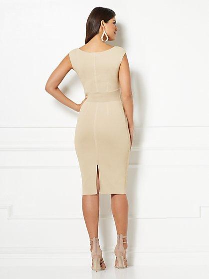 45c927e7a4 ... Eva Mendes Collection - Dascha V-Neck Sweater Dress - New York   Company